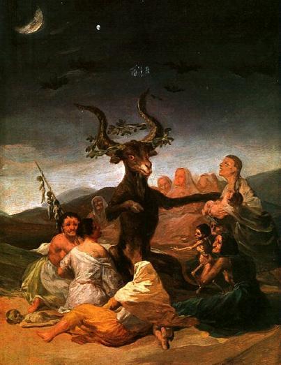 Франсіско Гойя. «Шабаш відьом в країні басків». 1797-1798